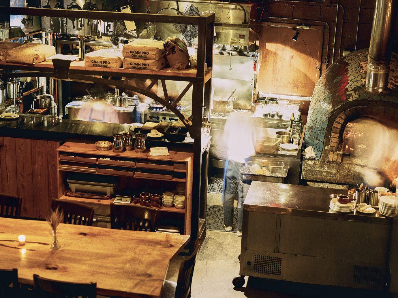 Food + Drink indoor wood restaurant tourist attraction interior design antique Bar cluttered