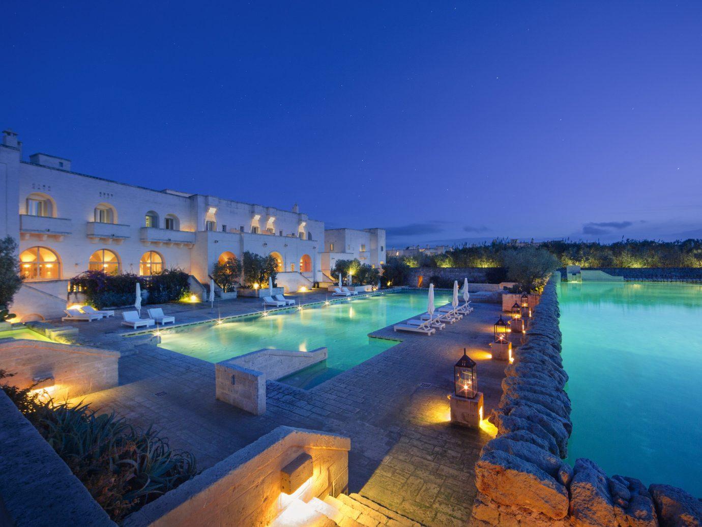 sky outdoor swimming pool Resort estate resort town Sea Lagoon bay