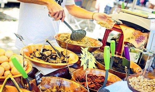 Food + Drink person food dish meal brunch street food sense cuisine preparing buffet