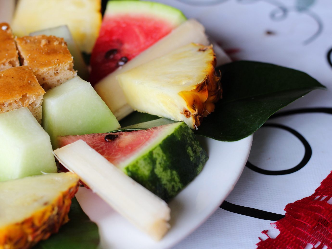 Trip Ideas food fruit produce plant plate dish melon land plant meal flowering plant cucumber gourd and melon family watermelon pineapple breakfast cucurbita coconut sliced