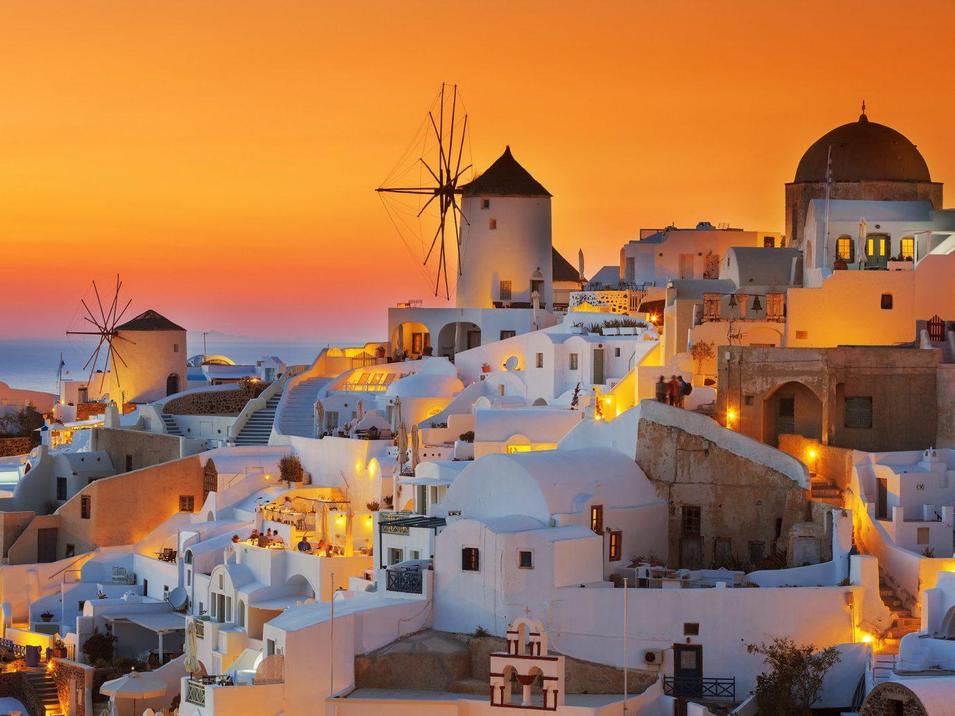 Trip Ideas outdoor Town vacation Resort evening Sea Sunset
