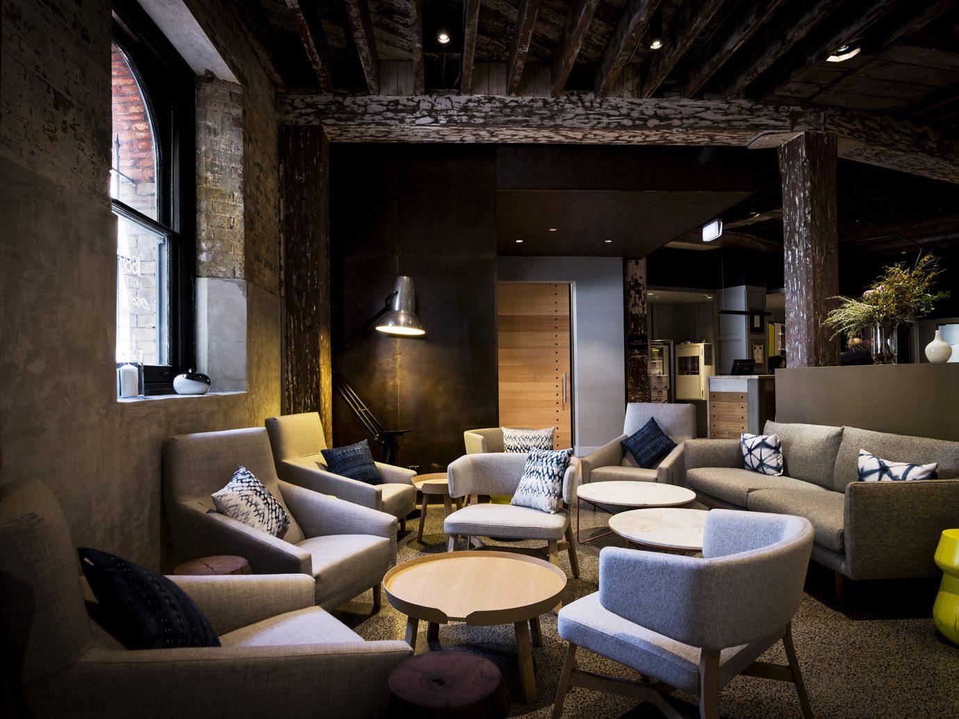 Hotels indoor room property living room estate home interior design lighting Design Lobby furniture