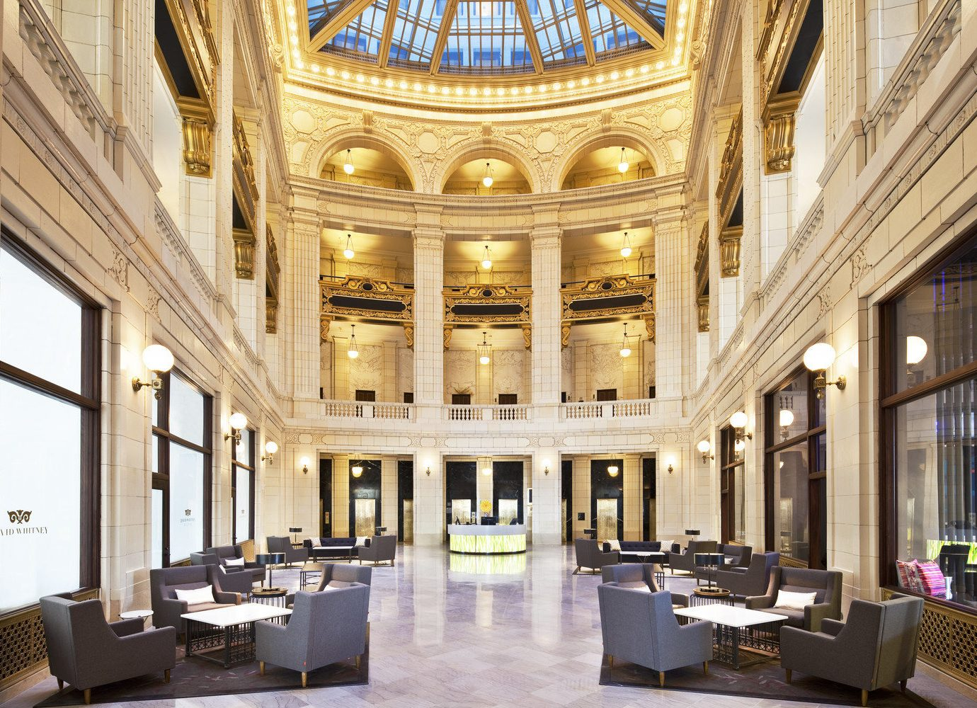Trip Ideas building indoor Lobby ceiling interior design function hall daylighting hall estate