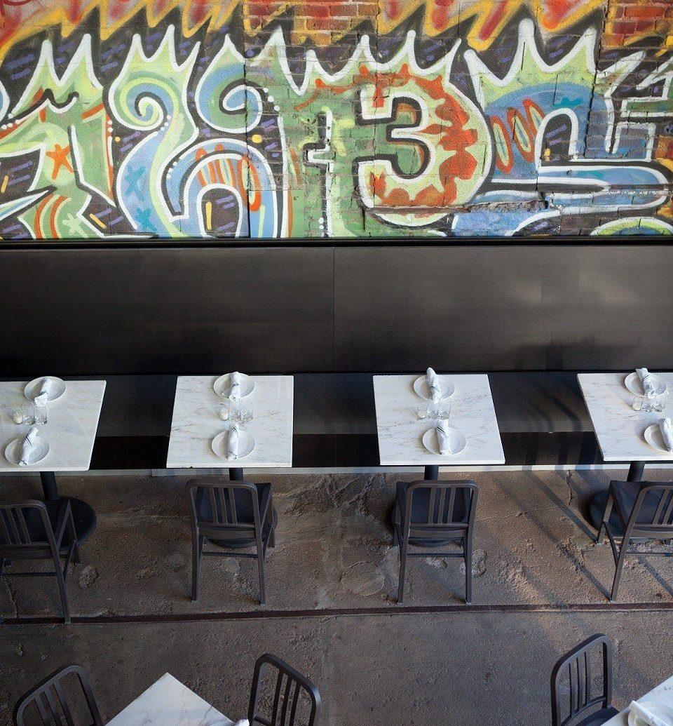 Food + Drink art wall mural graffiti Design modern art