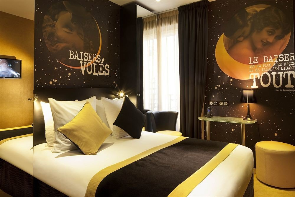 Trip Ideas indoor yellow room hotel Suite interior design