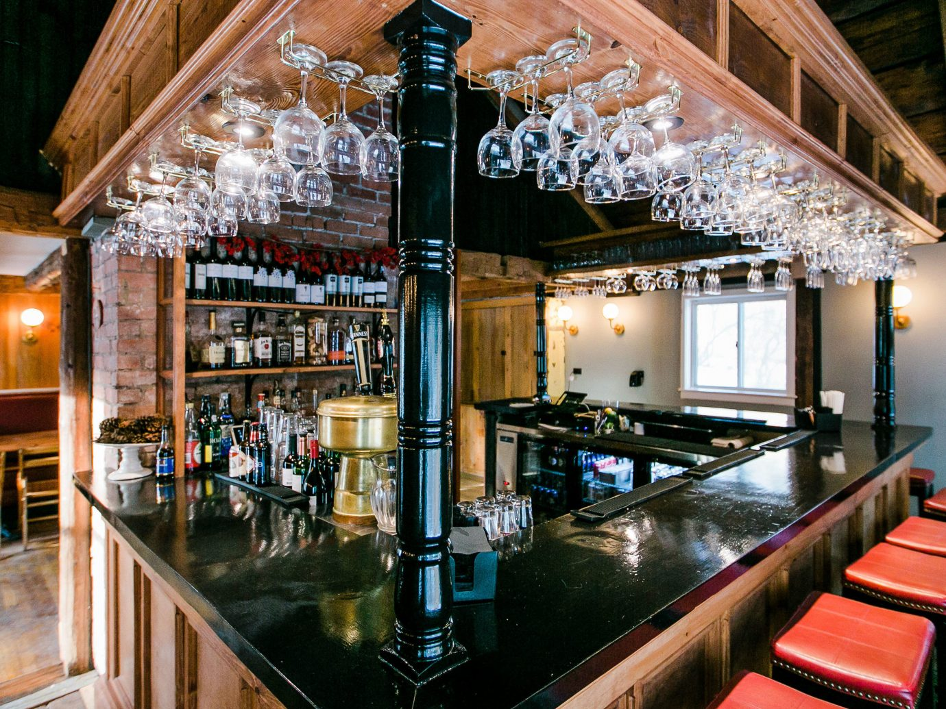 Mountains + Skiing Trip Ideas indoor floor Bar interior design restaurant