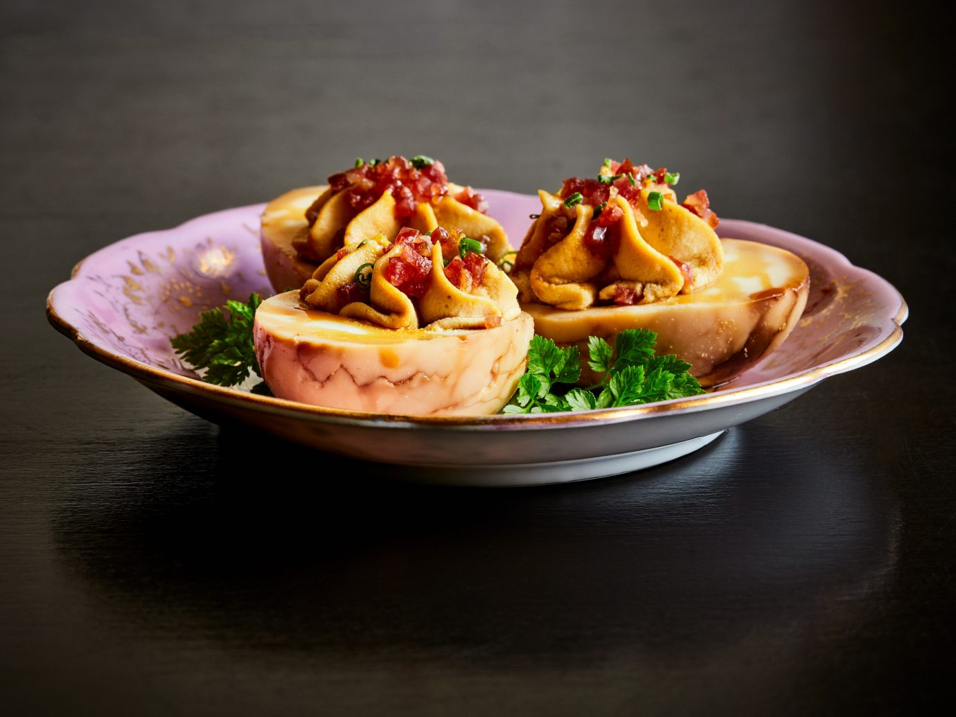 Food + Drink table food plate dish cuisine meal dessert produce breakfast