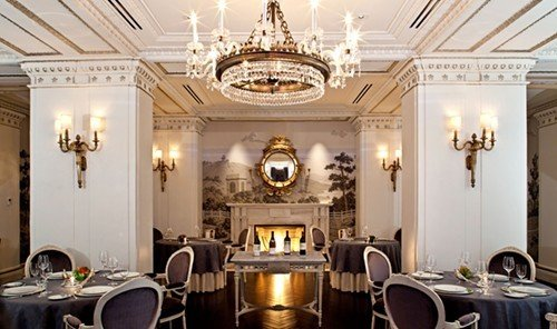Food + Drink indoor wall ceiling room dining room function hall lighting estate ballroom interior design area furniture
