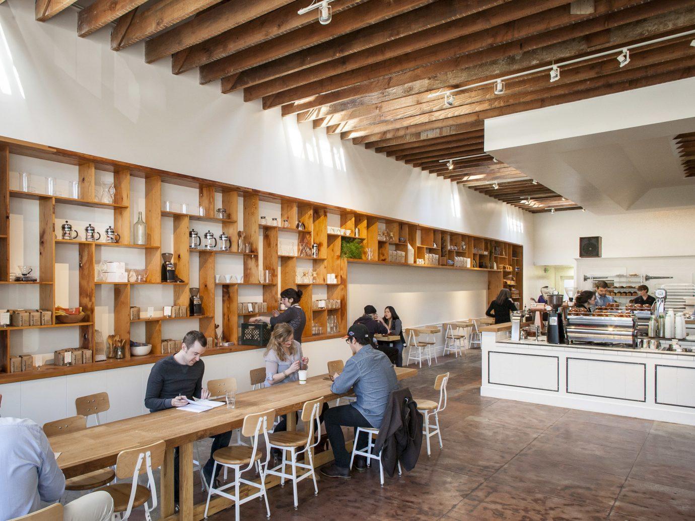Trip Ideas indoor ceiling floor room interior design estate Design library furniture dining room