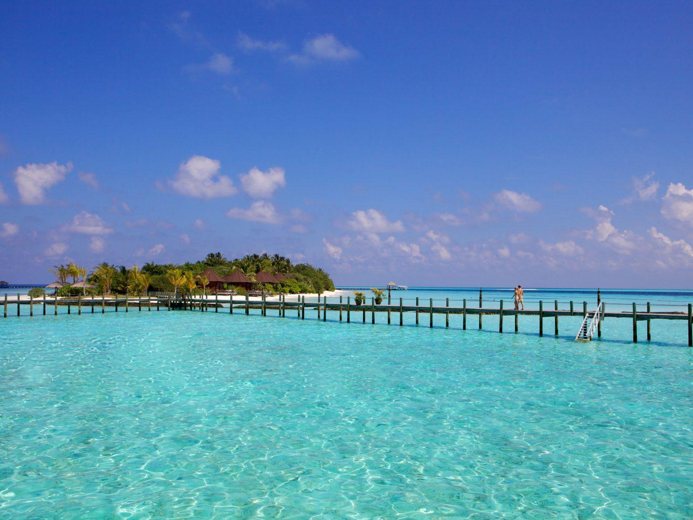 Warn Waters Of Maldives
