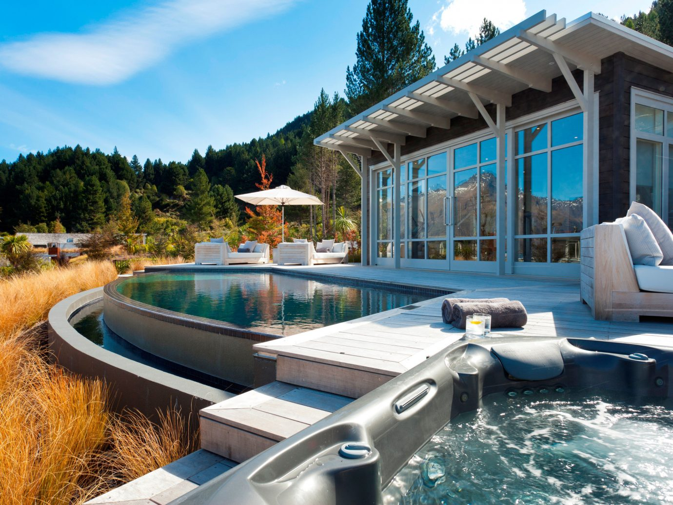 Trip Ideas outdoor sky swimming pool leisure property vacation estate vehicle Resort home Villa real estate backyard Deck