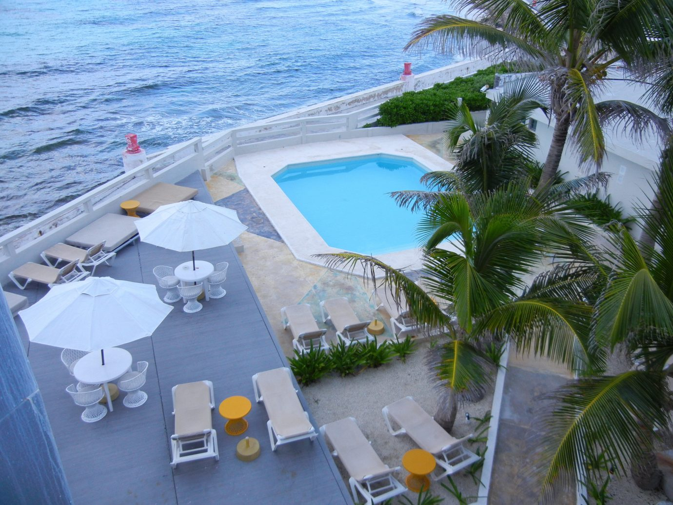 Budget outdoor caribbean Resort vacation marina vehicle swimming pool dock Sea tree plant shore