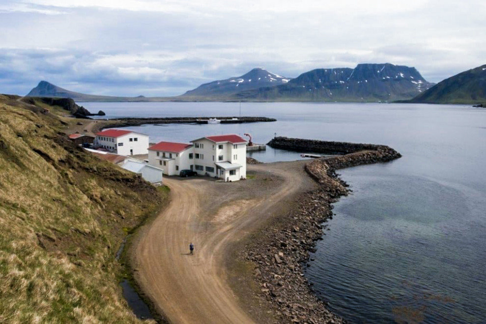 Iceland Travel Tips water outdoor sky Nature mountain Coast loch reservoir aerial photography fjord bay infrastructure shore waterway Sea promontory Island