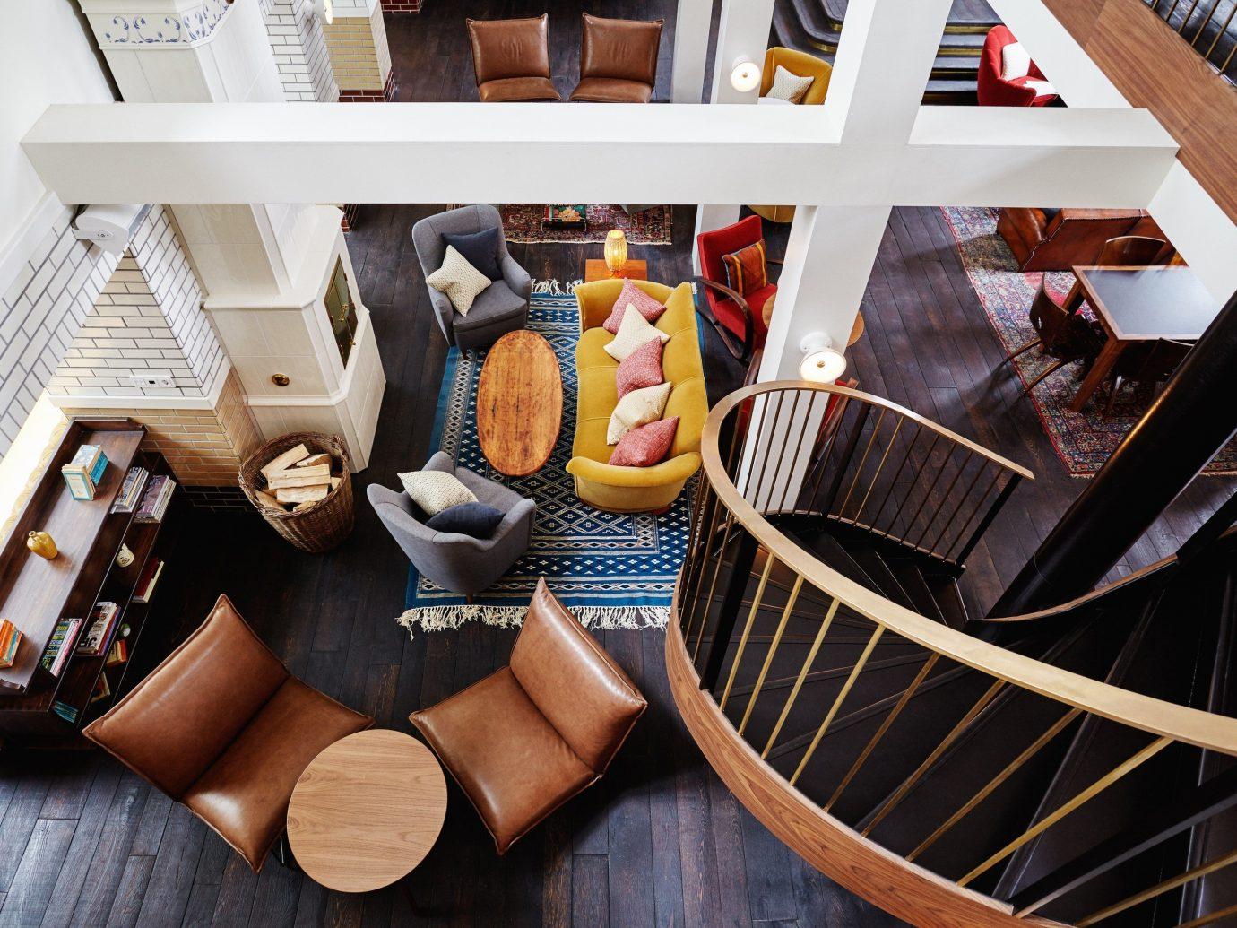 Hotels indoor fashion wooden