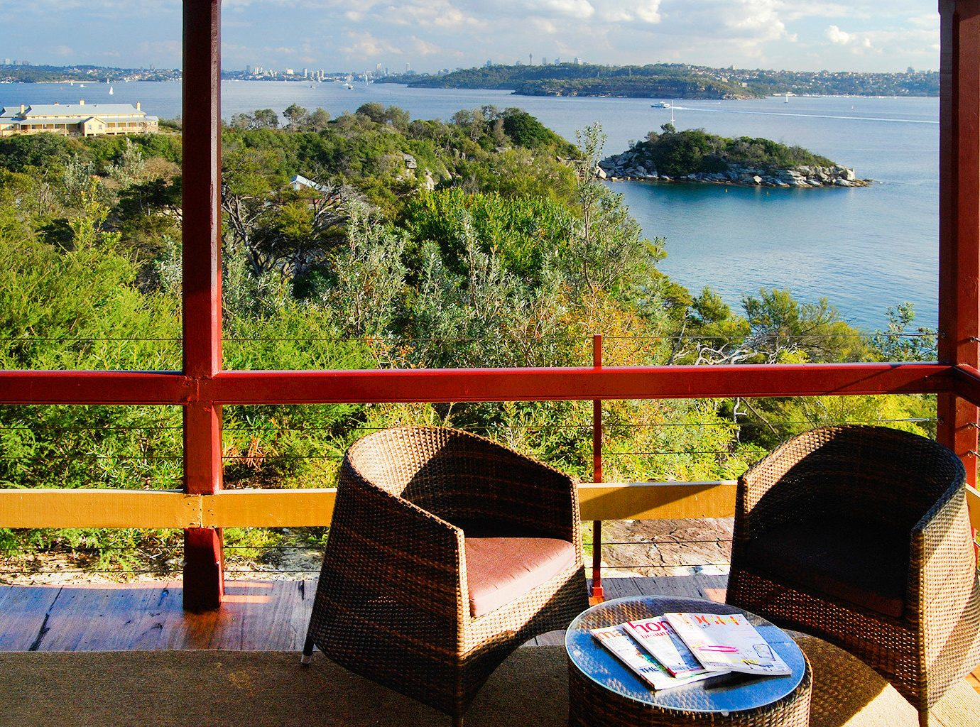 Balcony Budget Lounge Outdoors Scenic views Waterfront sky tree outdoor leisure vacation tourism Beach estate Resort Sea travel overlooking Deck