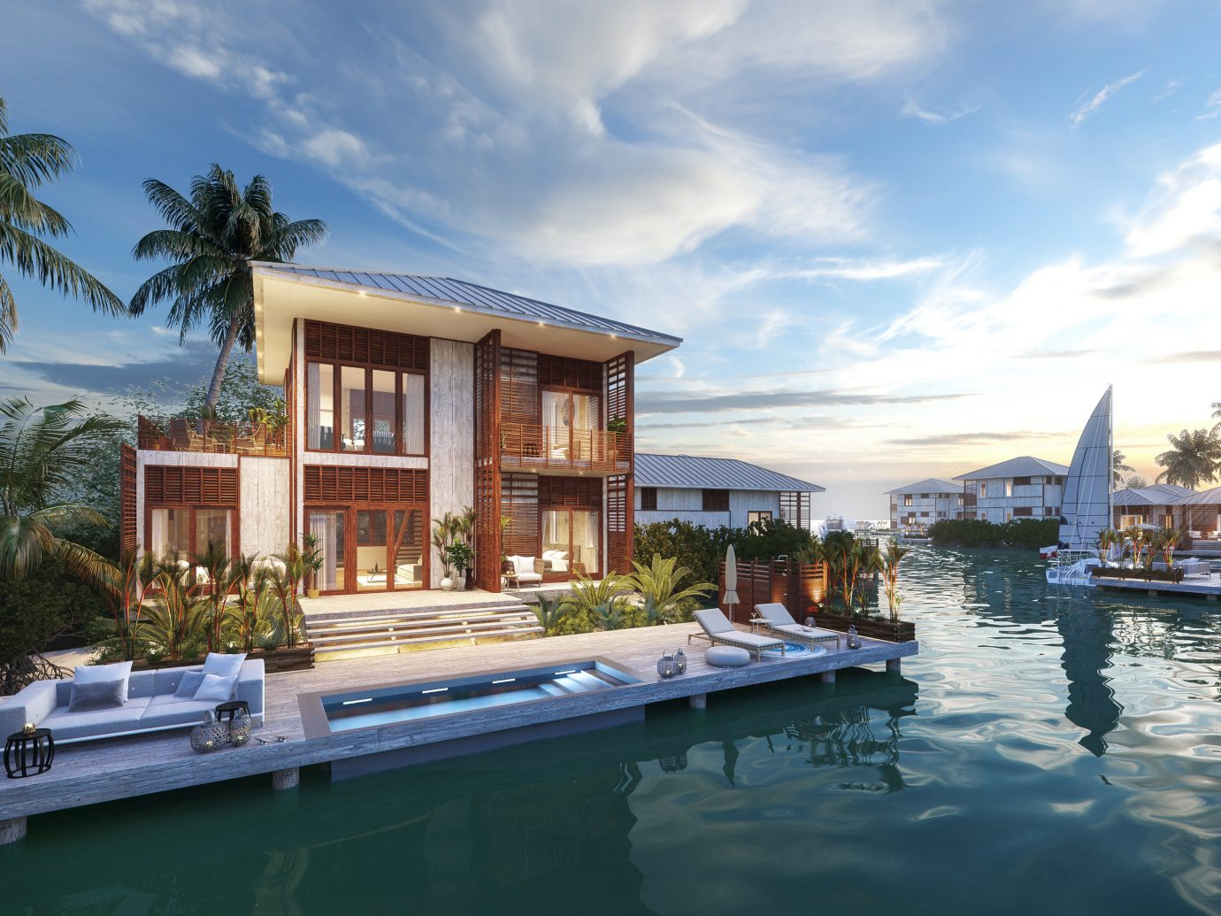 Itz'Ana Resort And Residences In Belize