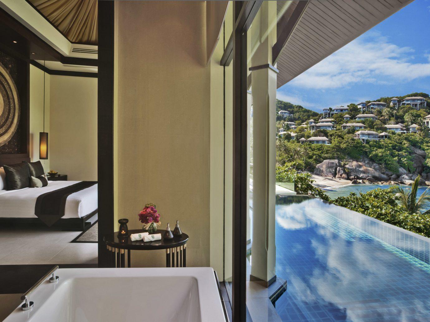 Hotels indoor property room estate home swimming pool interior design condominium Villa Resort mansion