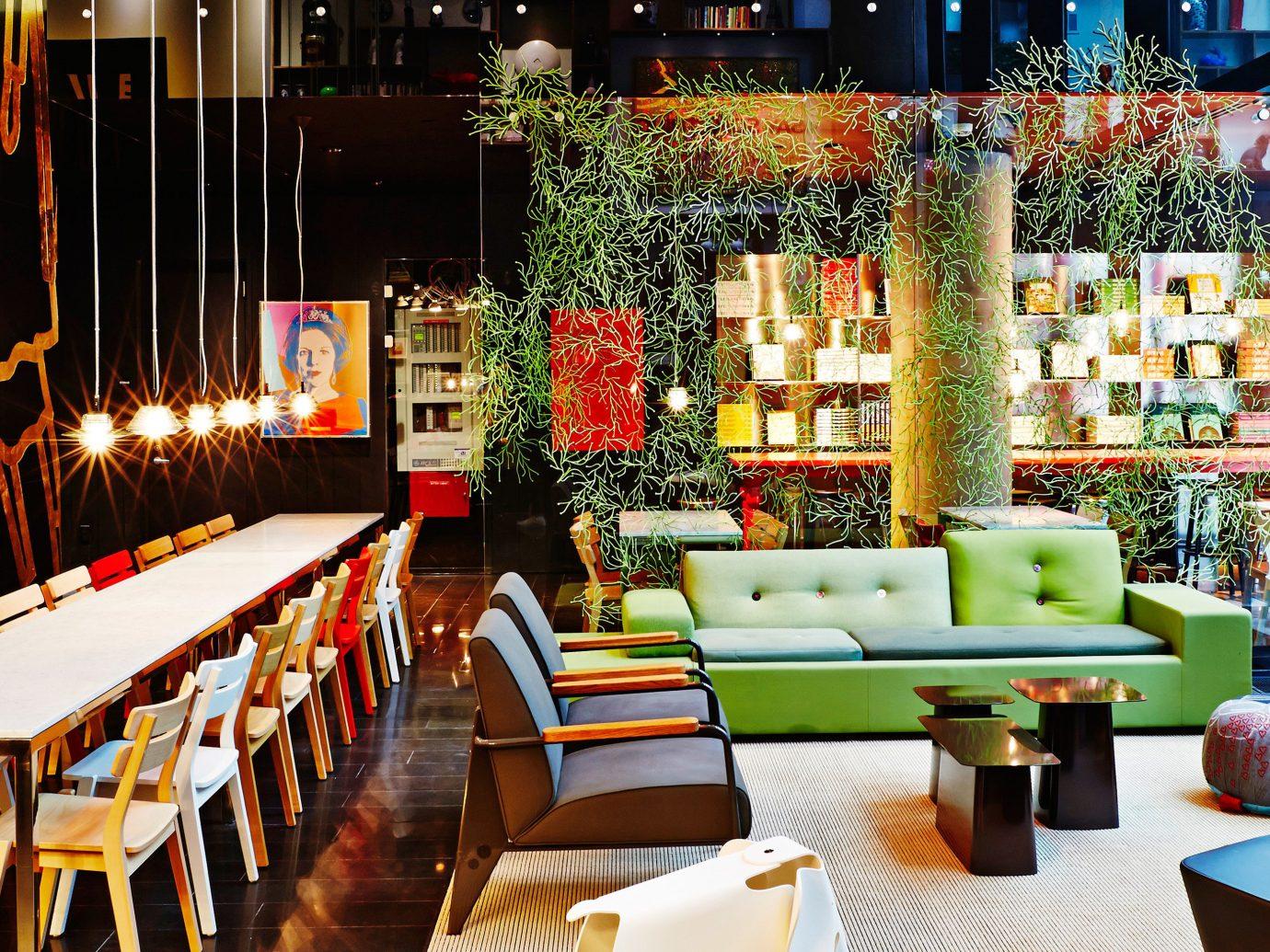 Budget City Design Lobby Lounge Modern table meal restaurant floristry interior design