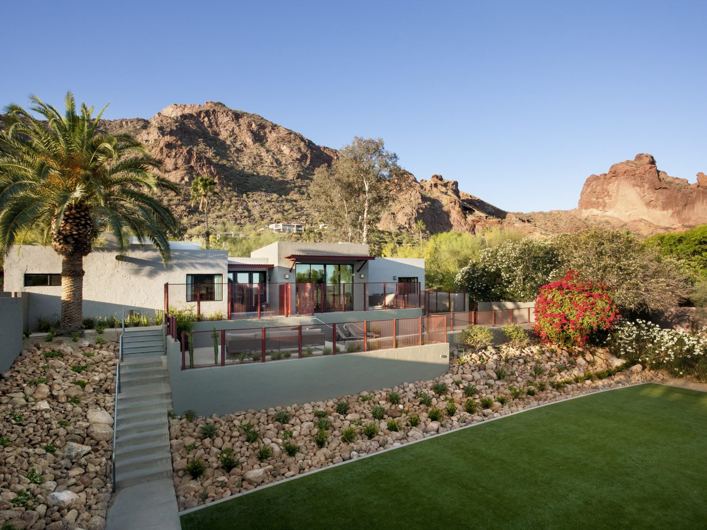 Health + Wellness Hotels Spa Retreats grass sky outdoor property estate mountain vacation landscape real estate home flower Villa Garden lawn