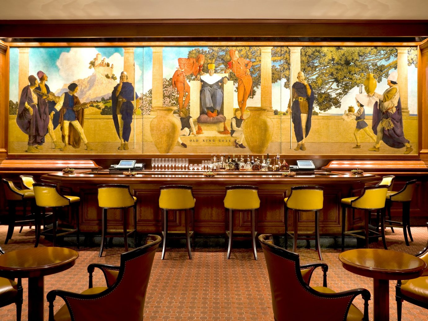 Drink Eat Food + Drink Hotels NYC Trip Ideas indoor room restaurant Bar meal interior design several