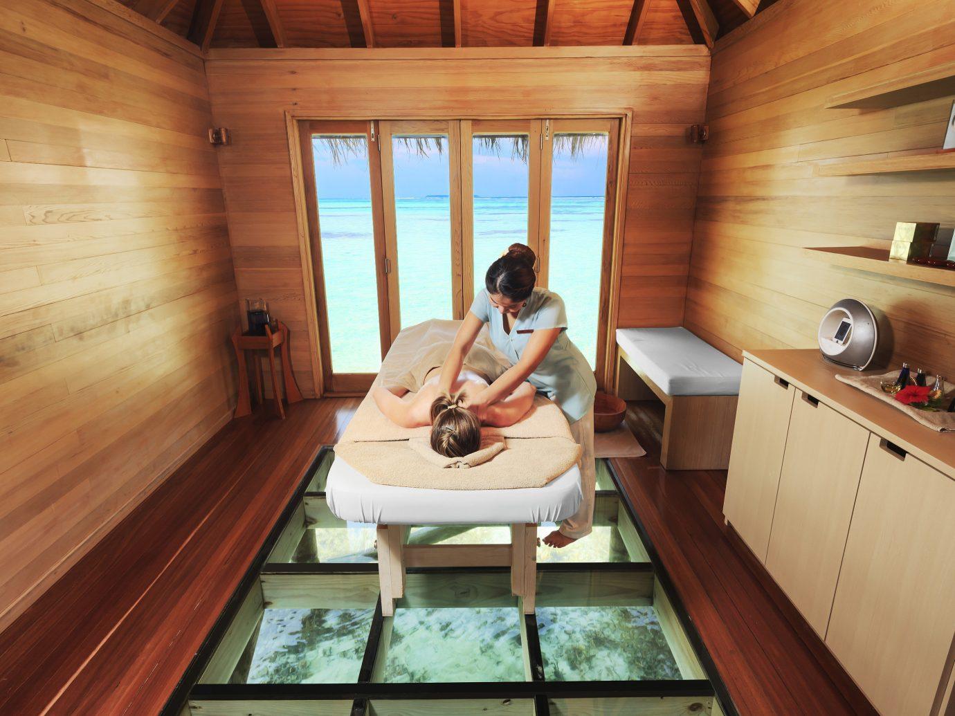 Hotels floor indoor room building ceiling swimming pool wooden estate interior design cottage wood