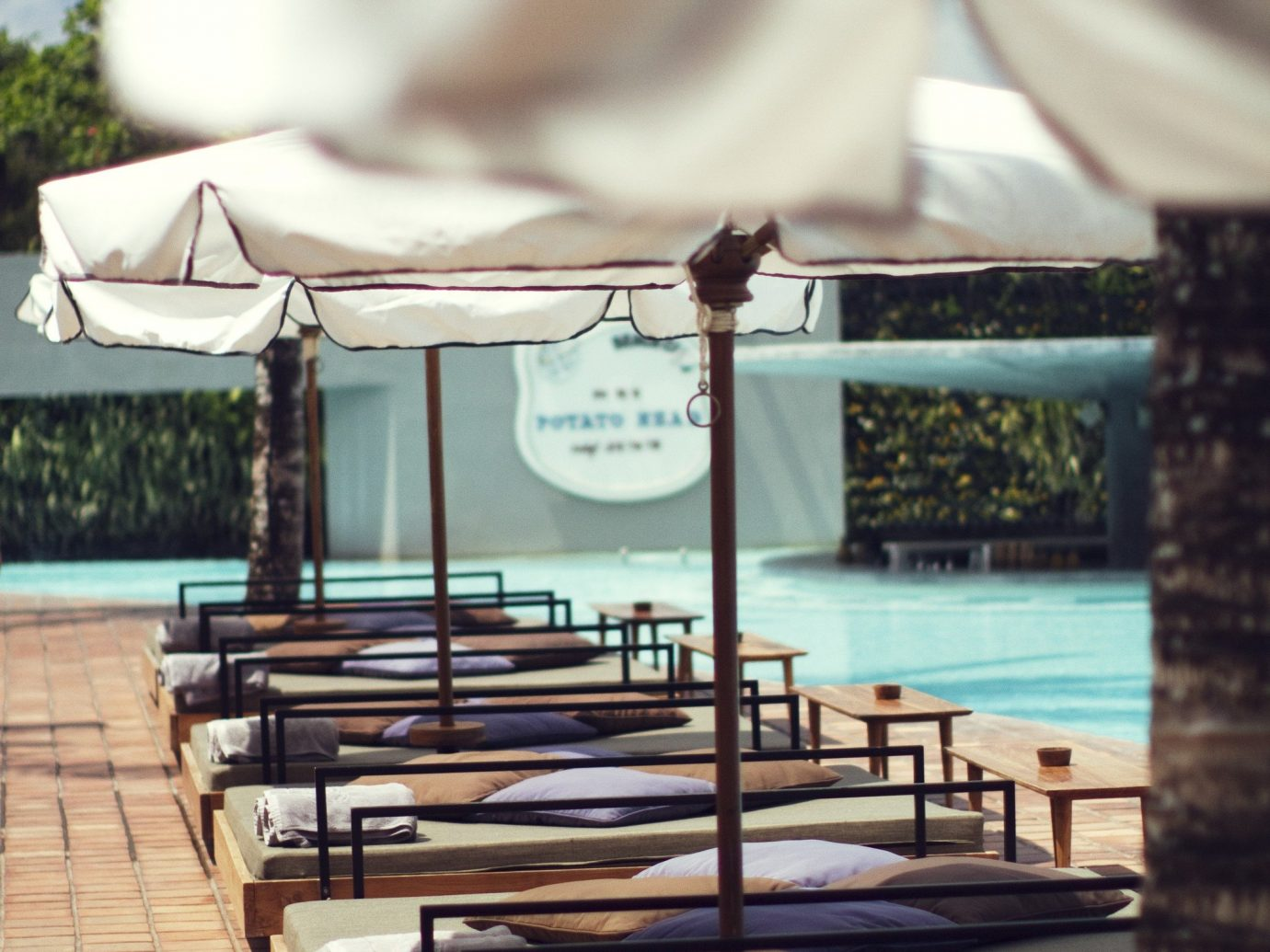 Trip Ideas Resort swimming pool interior design estate restaurant furniture several