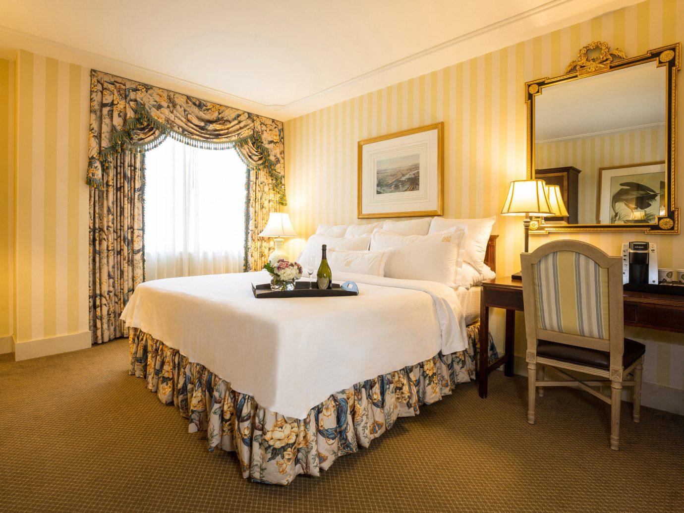 Hotels floor indoor wall room Suite bed ceiling interior design scene Bedroom hotel real estate furniture estate window