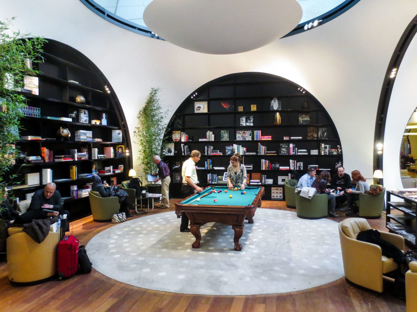 Arts + Culture Hotels Jetsetter Guides indoor Living interior design furniture restaurant