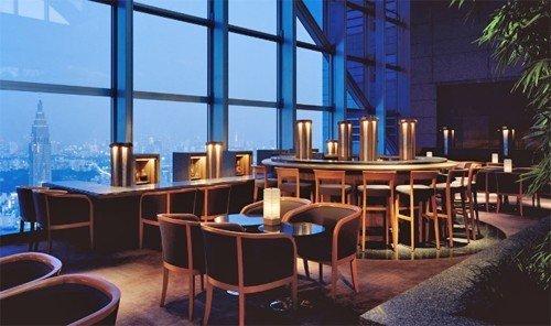 Food + Drink indoor window Resort restaurant convention center Bar area