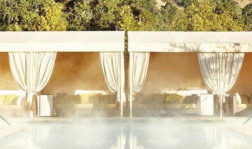 Health + Wellness Hotels Spa Retreats Trip Ideas tree interior design lighting Design material