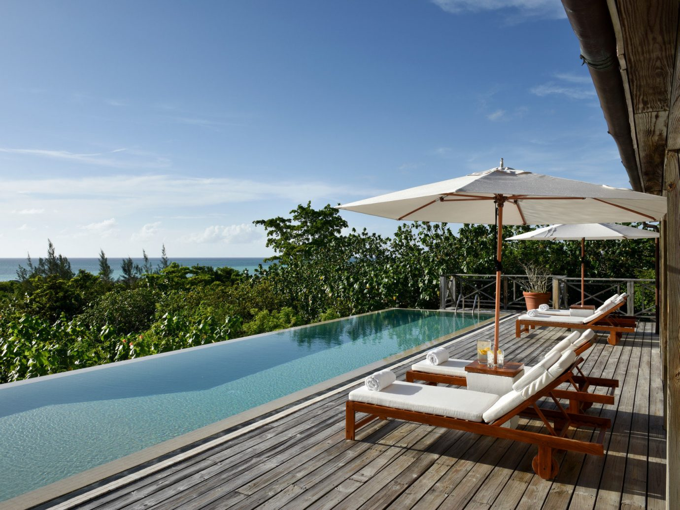 Hotels Trip Ideas sky outdoor leisure swimming pool property wooden vacation estate Resort Villa Sea real estate Beach Deck bay