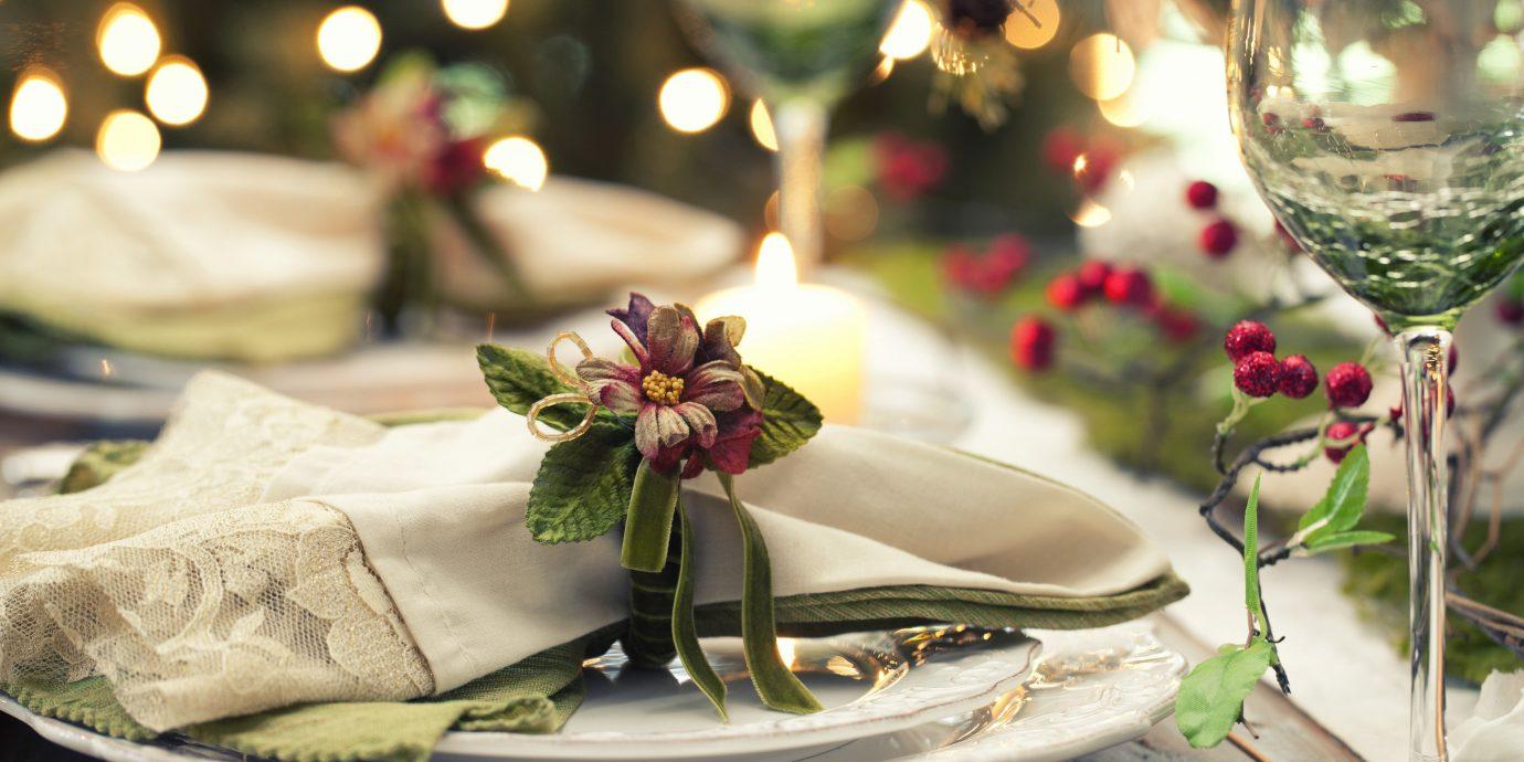 Style + Design table plate indoor flower arranging floristry flower centrepiece wedding petal ceremony floral design event Christmas christmas decoration Christmas tree