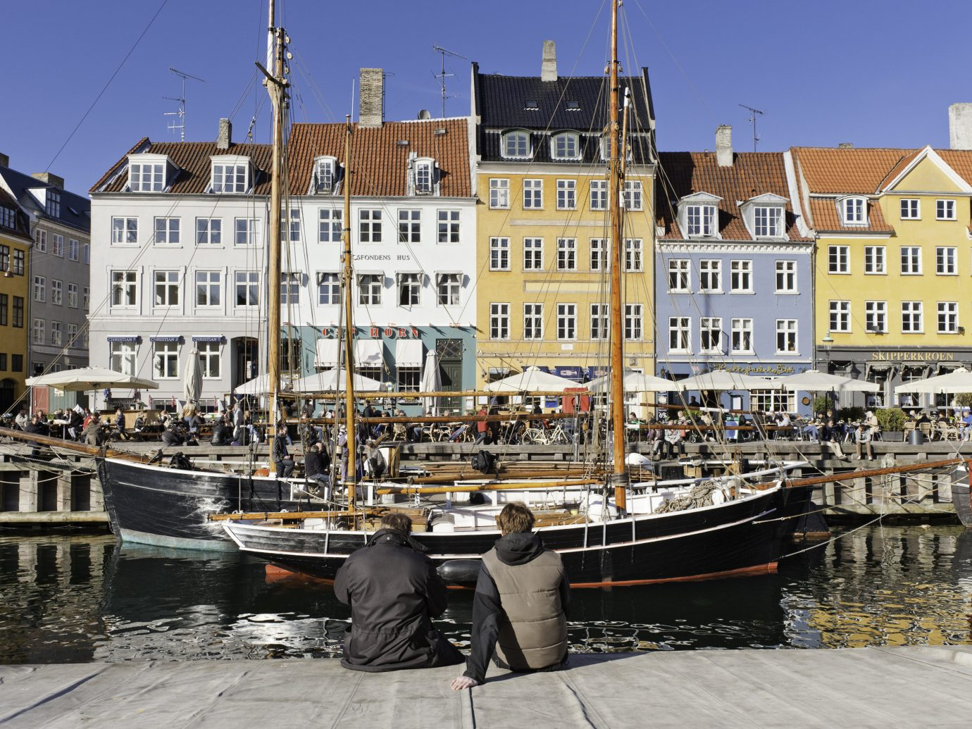 Copenhagen Denmark Trip Ideas waterway water water transportation Harbor Town City watercraft Boat channel marina Canal building ship vehicle port facade sky