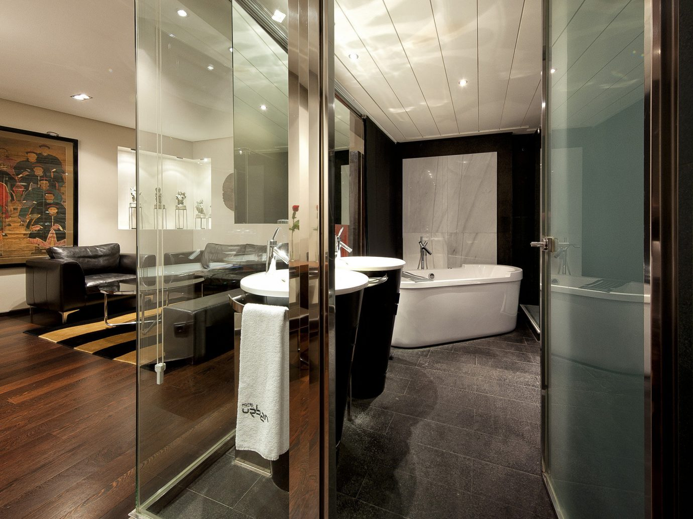 Hotels Madrid Spain floor indoor wall room property building interior design home Design Suite estate