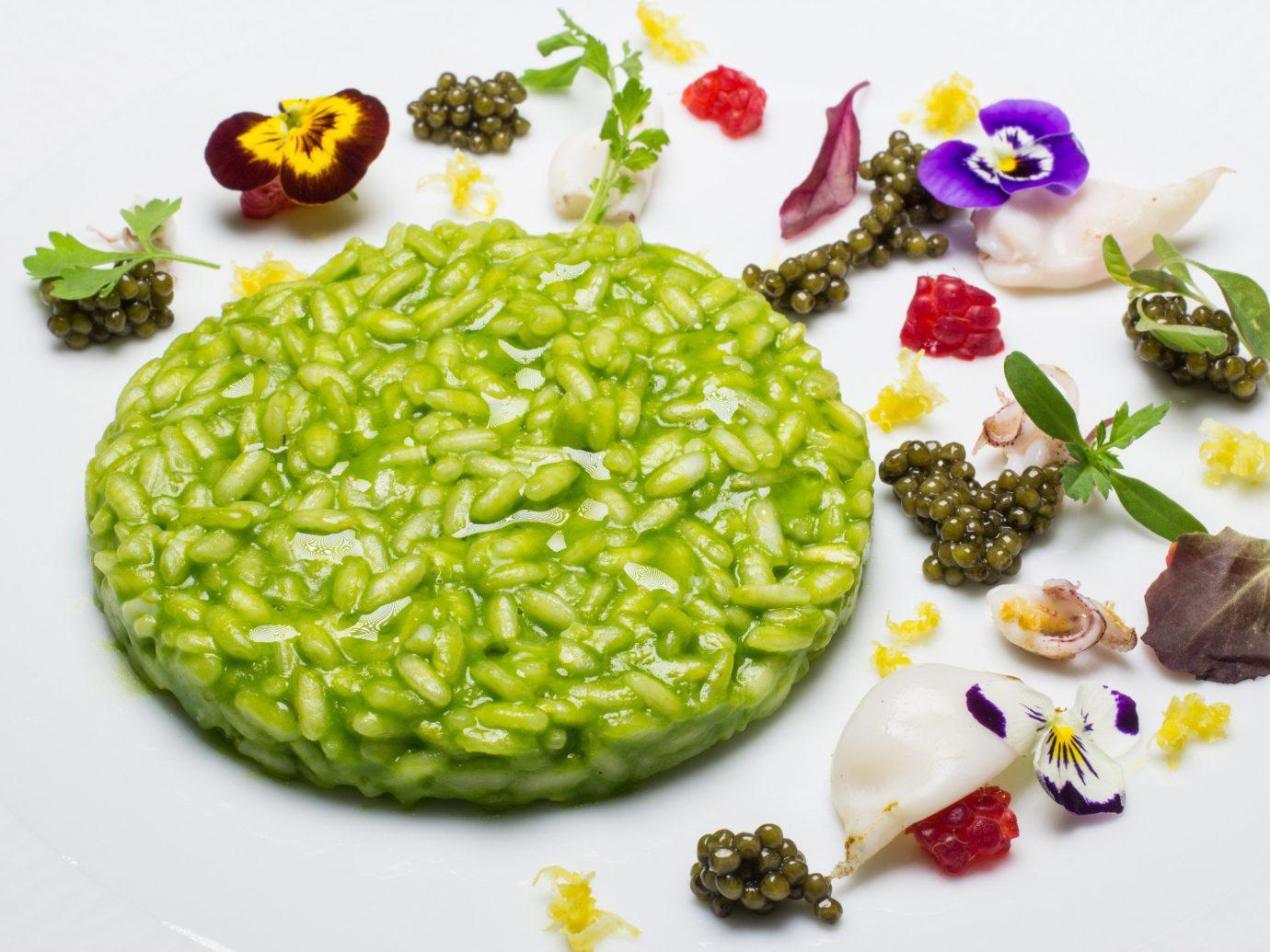 Food + Drink plate dish food cuisine produce plant vegetable land plant vegetarian food meal flowering plant arranged sliced fresh