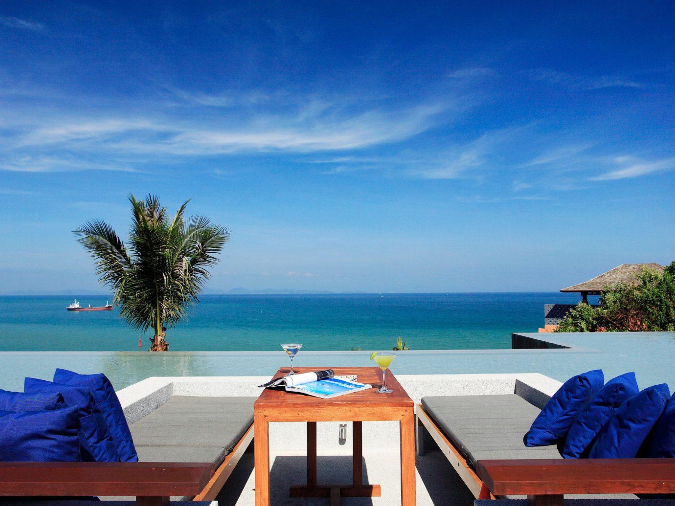 Beach Beachfront Exterior Hotels Ocean Resort sky water leisure outdoor vacation Sea caribbean swimming pool Nature estate bay Villa overlooking Deck shore Island