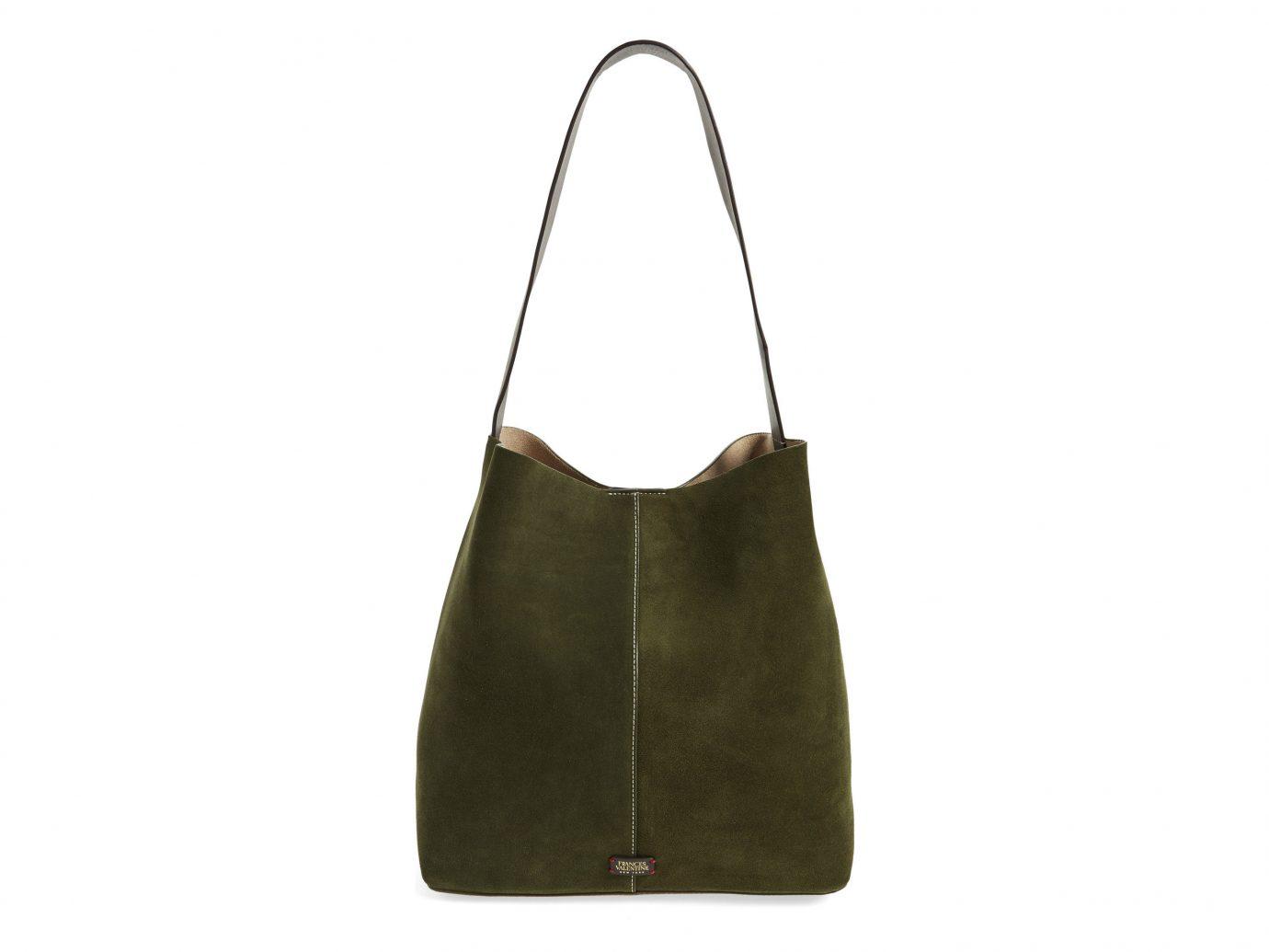 Packing Tips Style + Design Travel Shop Weekend Getaways bag handbag shoulder bag brown leather pocket hobo bag product accessory product design tote bag metal brand suede beige