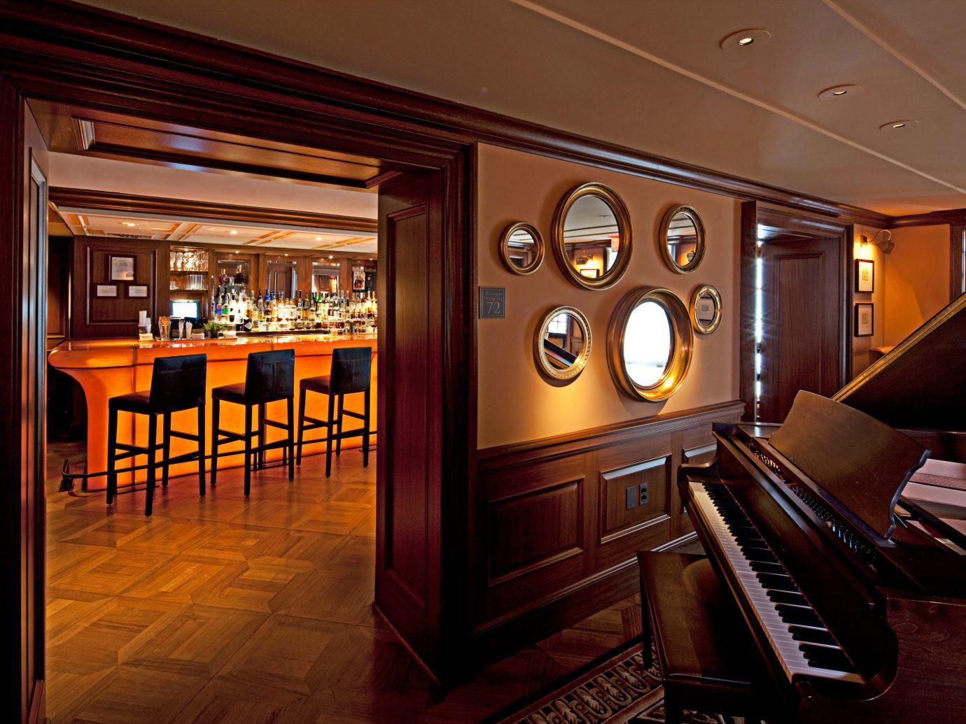 Bar Boutique Hotels Drink Hotels indoor floor room ceiling recreation room Lobby estate interior design home mansion screenshot living room