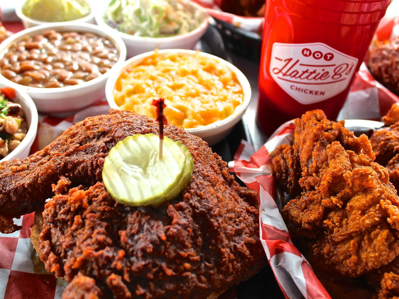 Arts + Culture Austin Food + Drink Hotels Nashville Trip Ideas food dish plate fried food meal meat fast food breakfast snack food produce cuisine close several