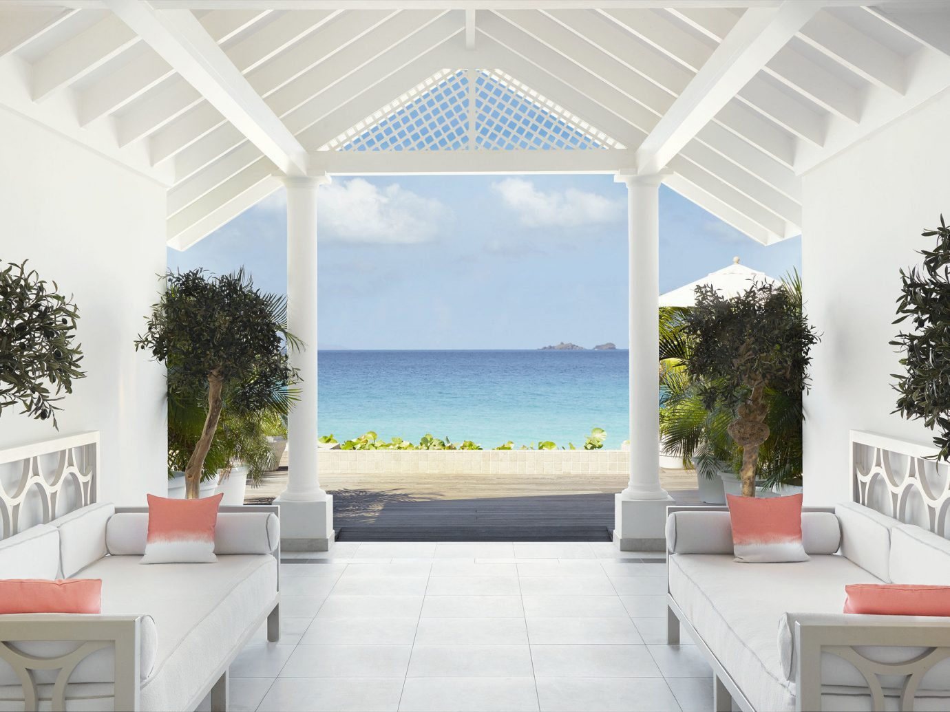 View From Veval Blanc St-Barth Ilse De France At St. Bart'S