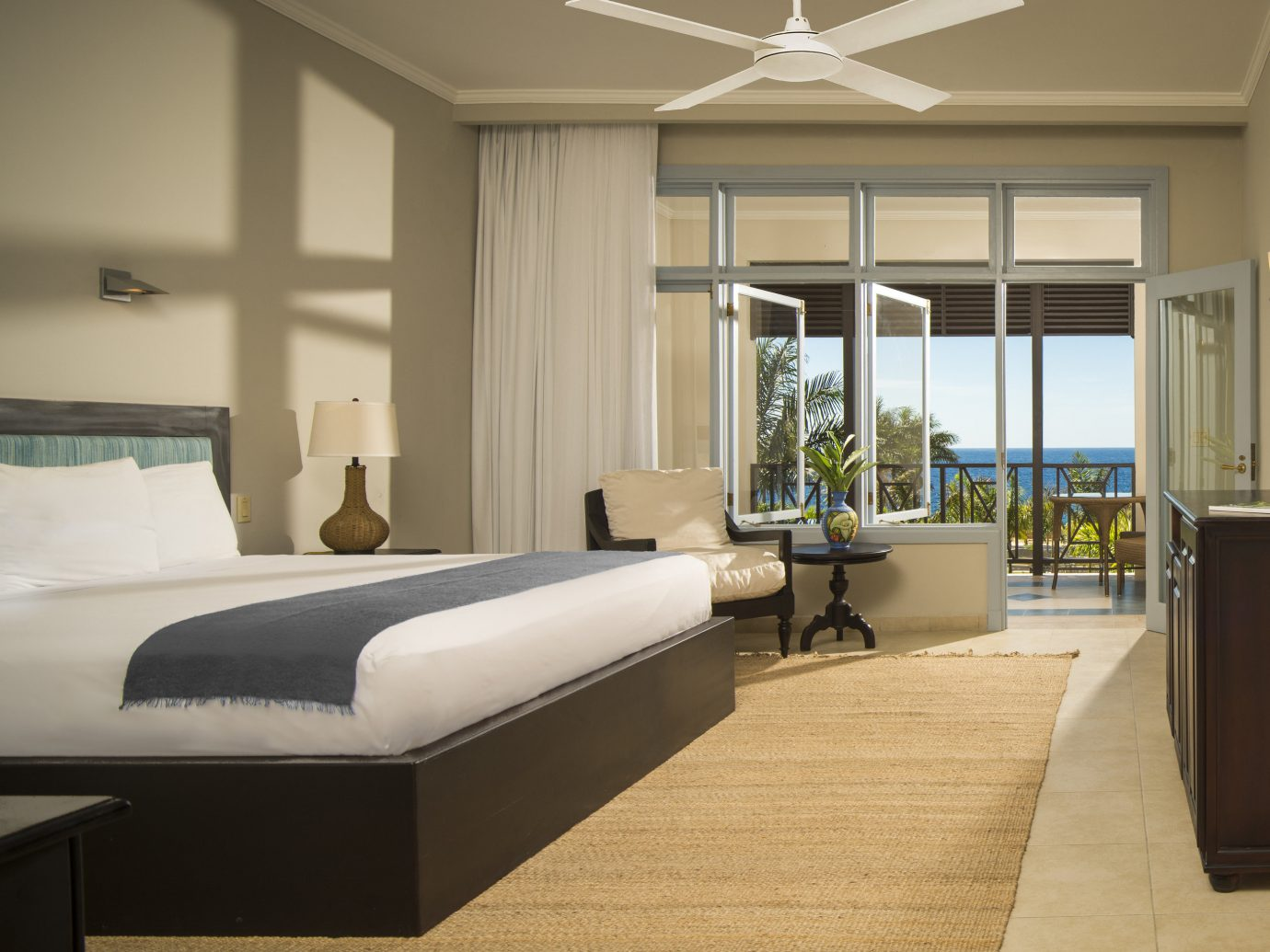 Bedroom at The Cliff Hotel