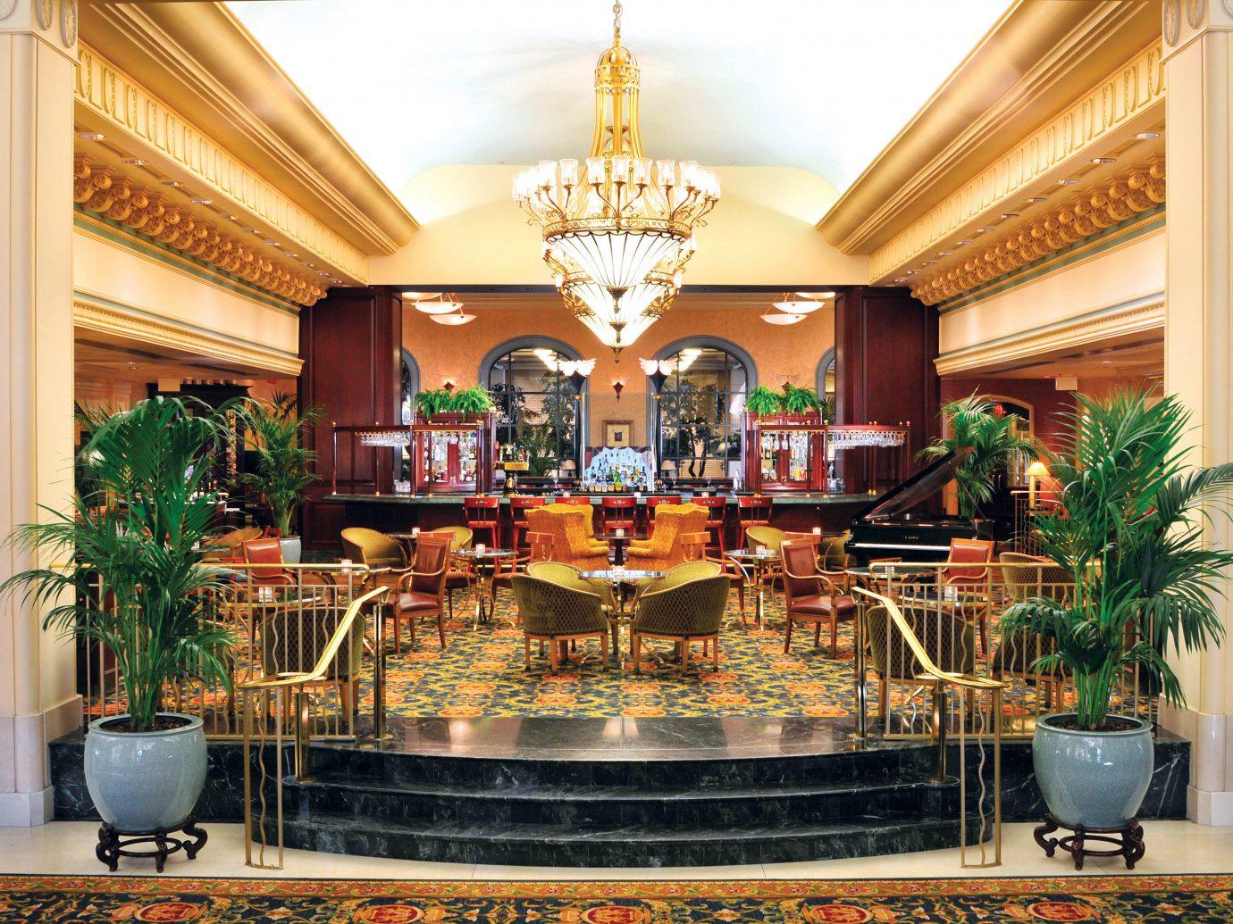 Elegant Hotels Living Lobby Lounge indoor building plant altar interior design Resort furniture meal dining table