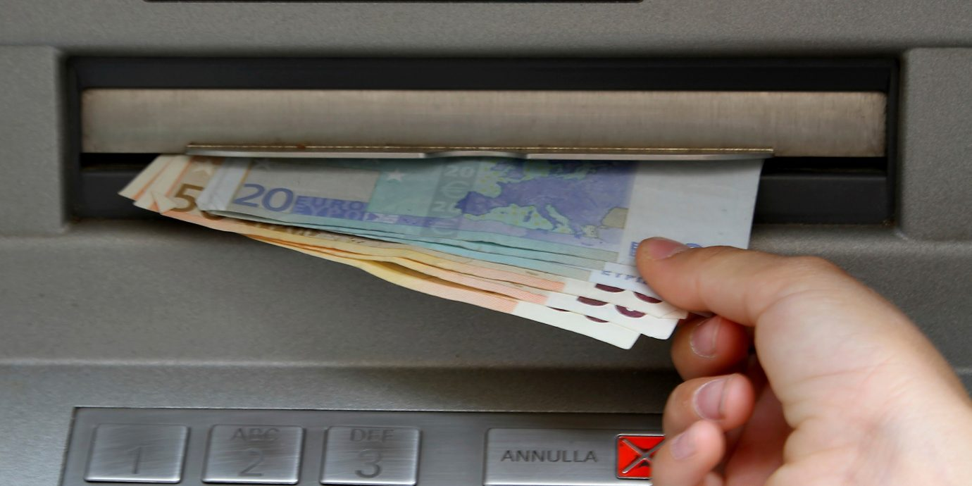 News person indoor cash money keyboard currency electronics hand document brand cash machine writing