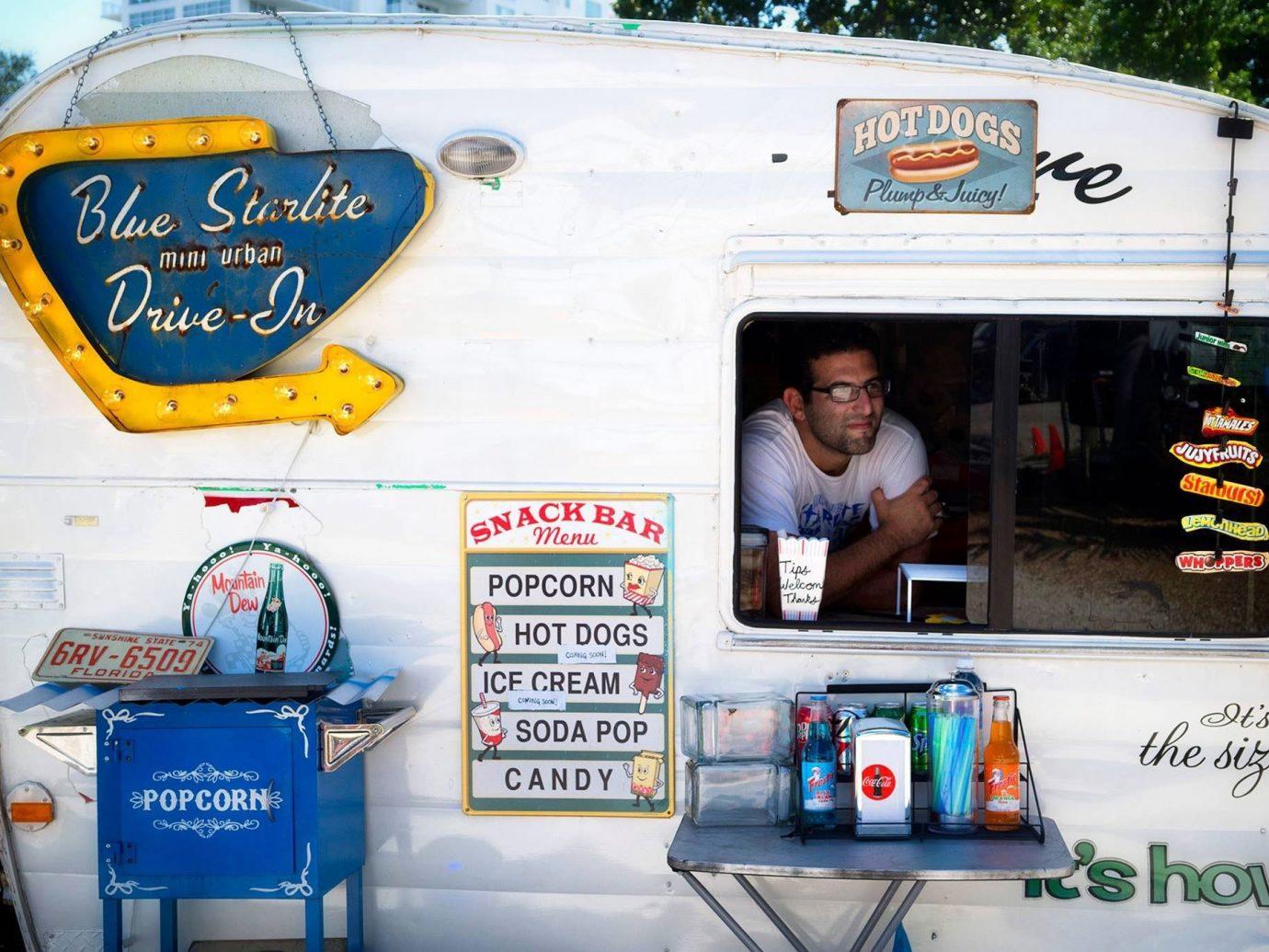 Arts + Culture outdoor transport vehicle advertising art van
