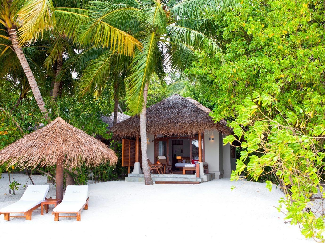 Beach at Baros Maldives