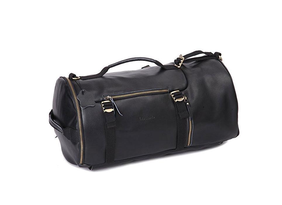 Style + Design bag accessory luggage black suitcase shoulder bag handbag leather hand luggage case