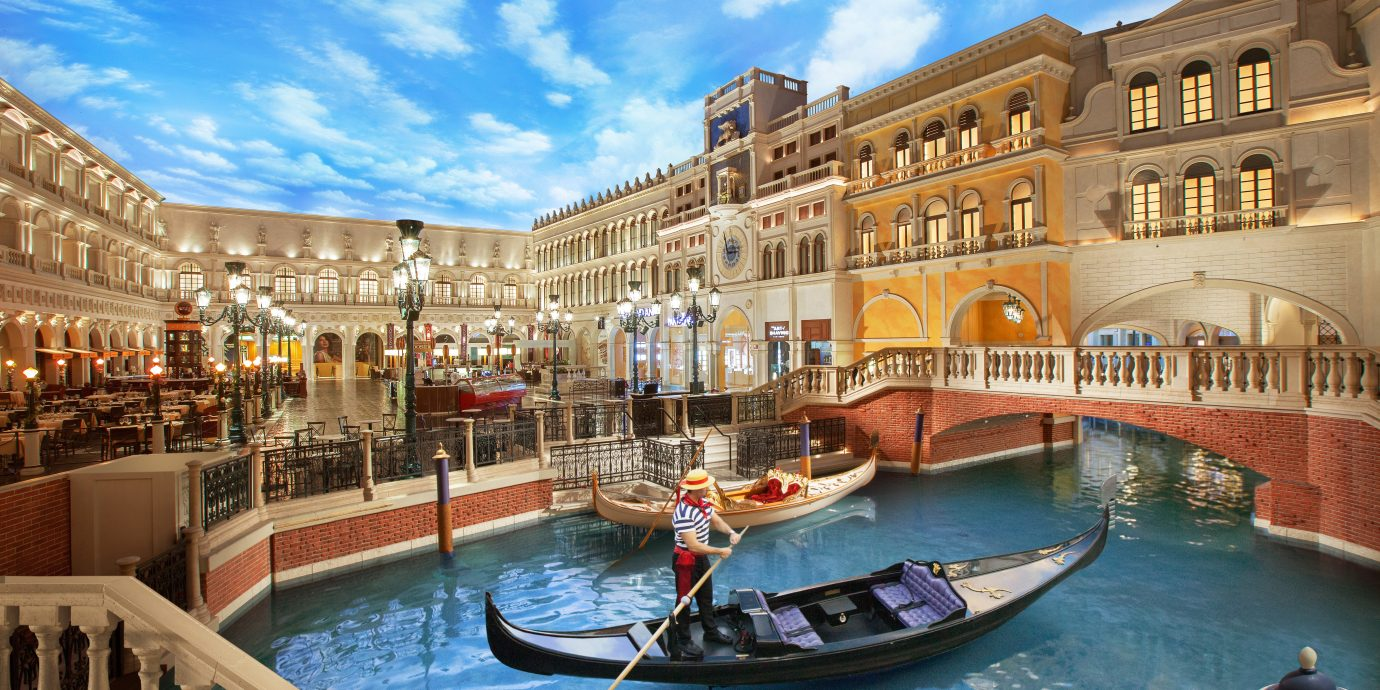 Architecture Boat Buildings Design Family Travel Hotels Luxury Resort Romance Scenic views Trip Ideas Weekend Getaways sky building water outdoor leisure Town vacation waterway palace plaza estate Canal tourism vehicle Harbor swimming pool gondola