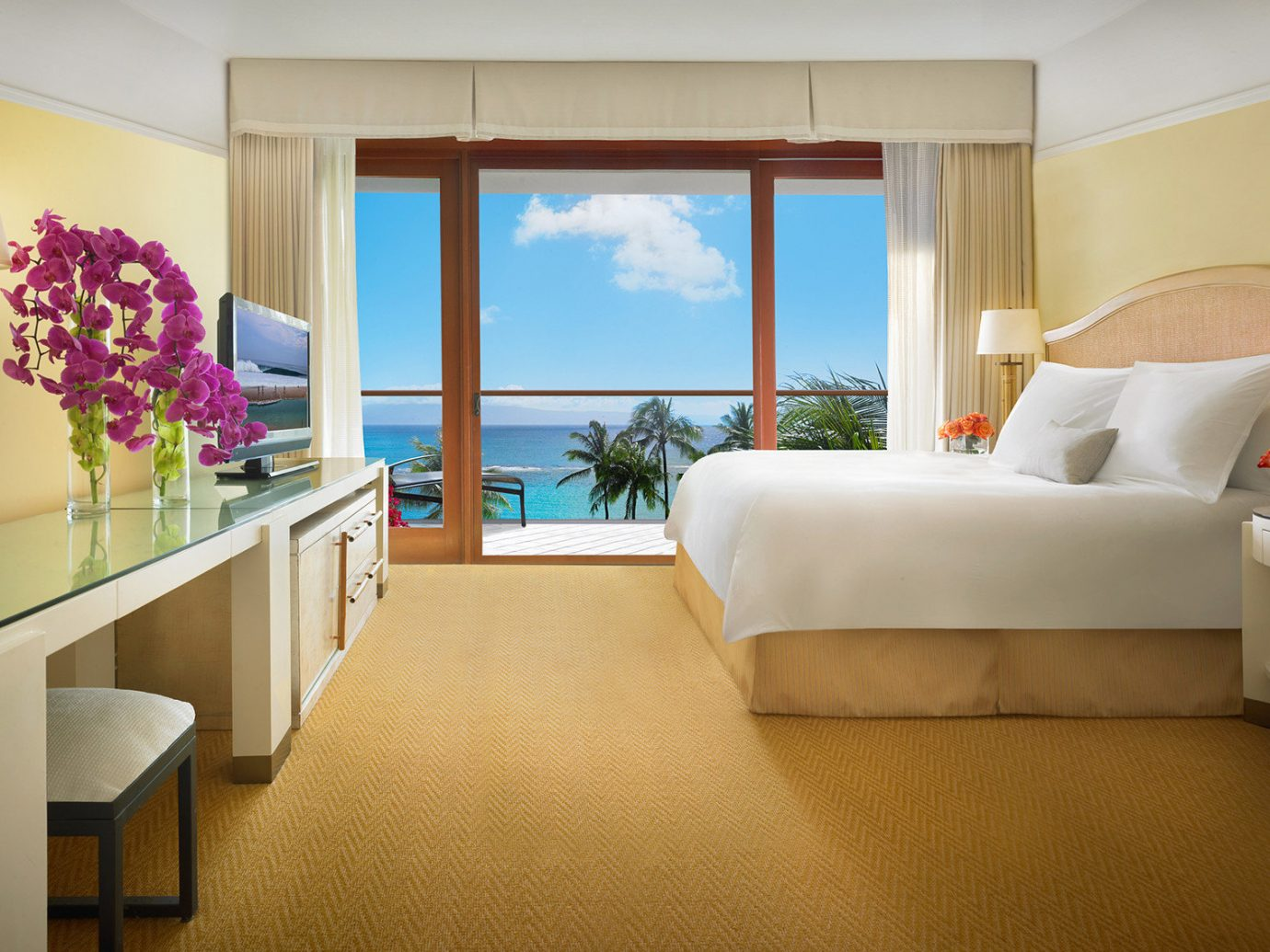 Beach Boutique Hotels Hotels Luxury Travel indoor wall floor sofa room window ceiling Suite interior design bed hotel Bedroom furniture interior designer area Modern decorated