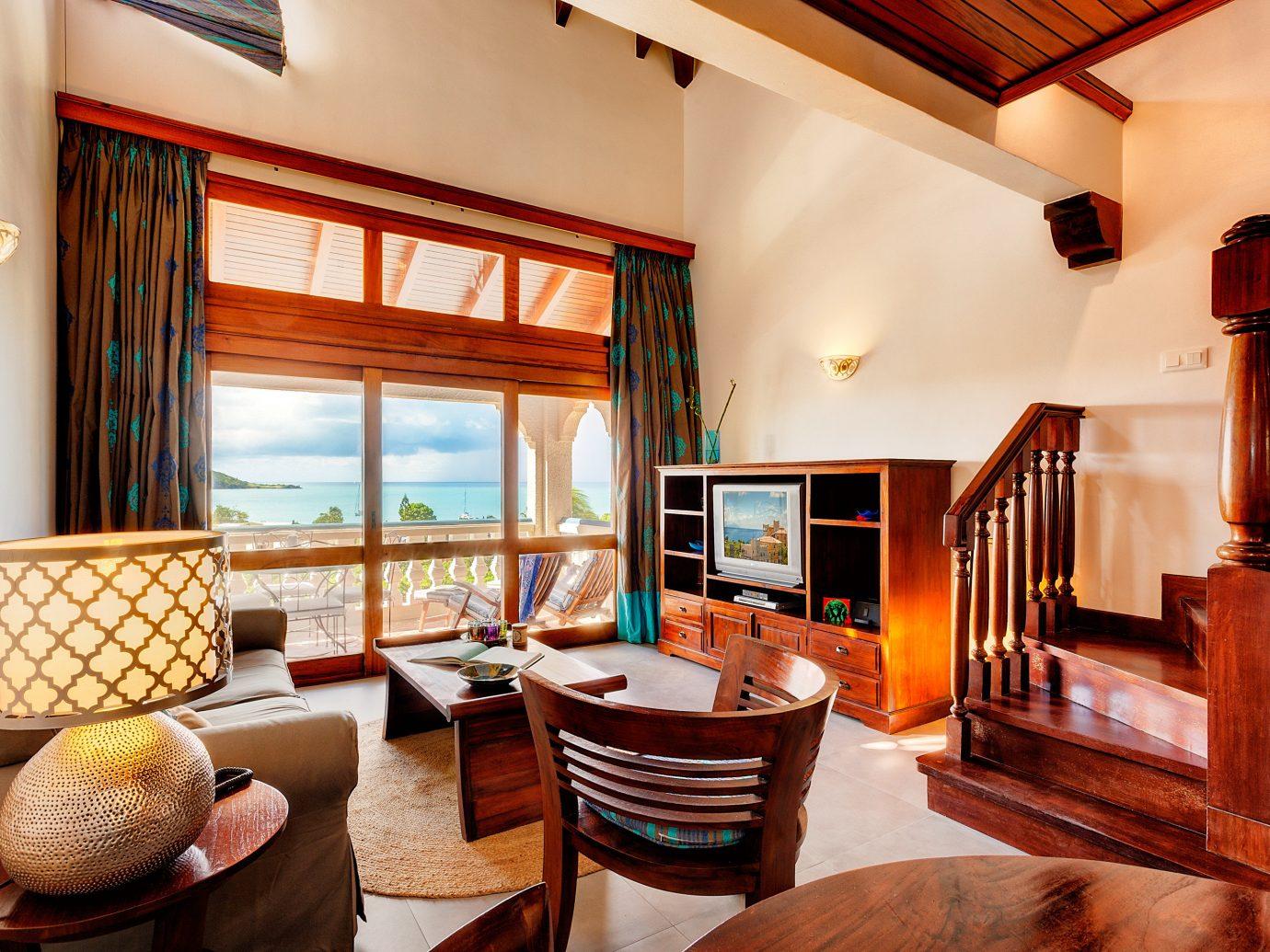 Hotels indoor room Living floor living room chair interior design Suite real estate furniture estate ceiling Dining window area decorated