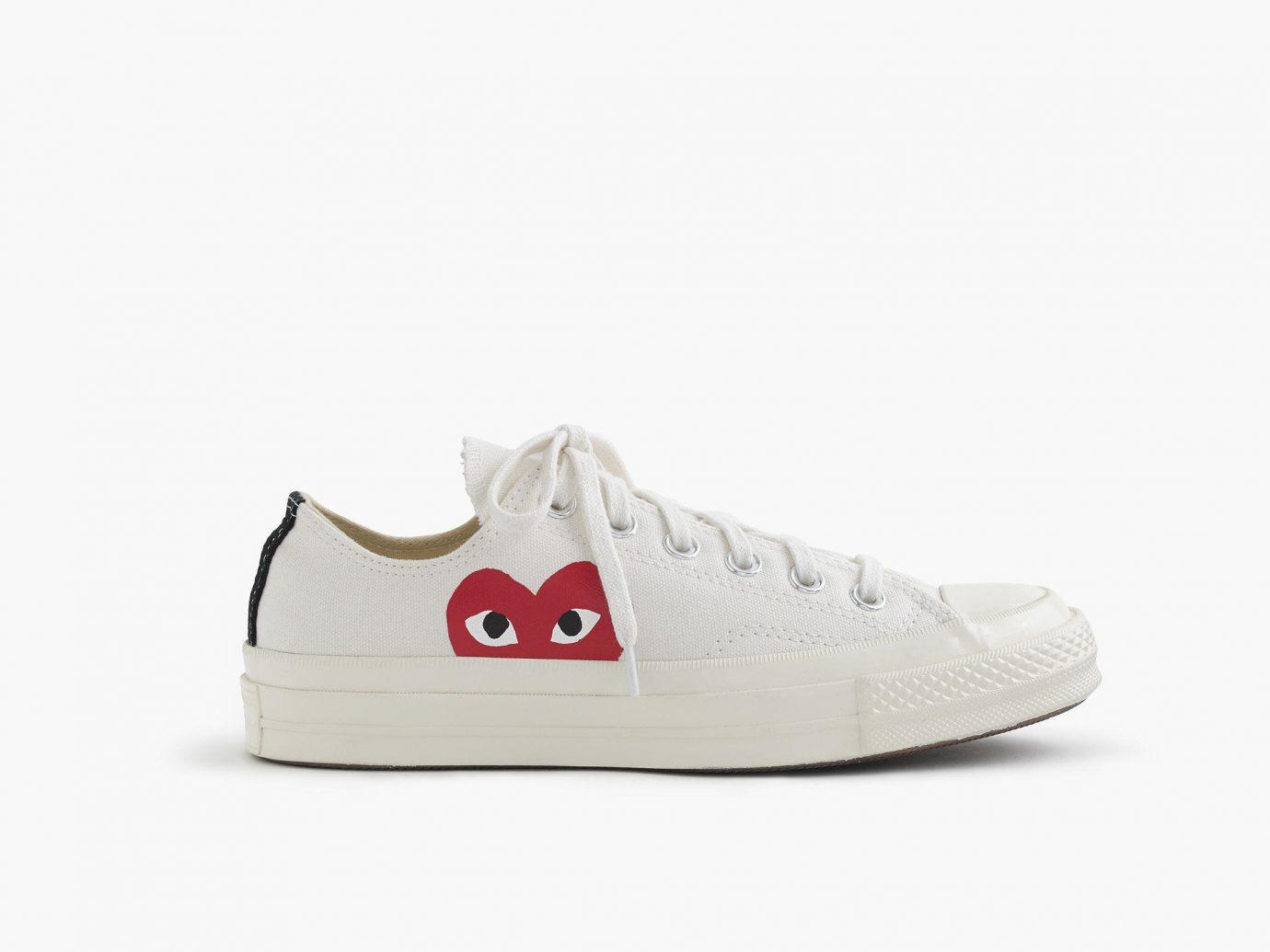 Style + Design footwear shoe white sneakers leather walking shoe athletic shoe brand beige tennis shoe cross training shoe textile